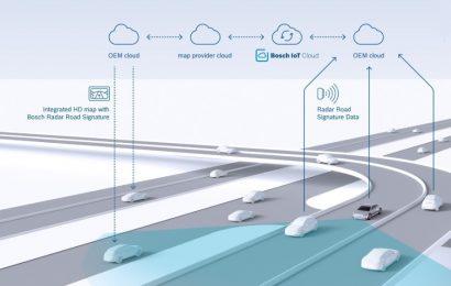 Nye radarkort forbedrer automatiseret kørsel