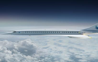 CO2 neutral supersonisk flyvning til alle steder i verden for 100 dollars: Nyt fly gør det muligt