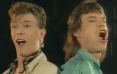 Bowie og Jagger på slap line – se video