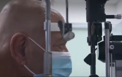 Første mand med kunstig hornhinde genvinder synet: Ny teknologi kan redde millioner fra blindhed