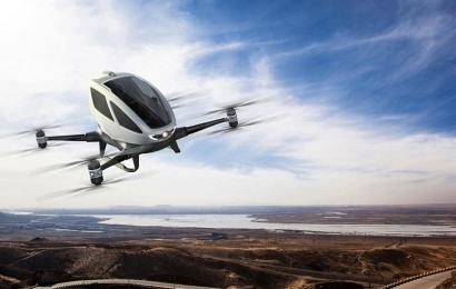 Verdens første selvflyvende taxi er nu en realitet