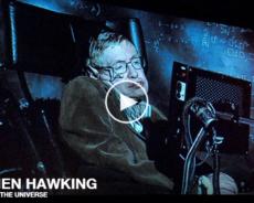 Se Stephen Hawking svare på universets store gåder