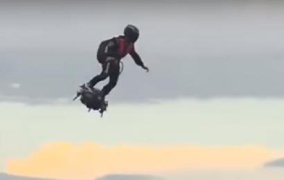 Video: Se virkelighedens Ironman i luften