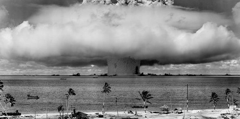 Verdens atomvåben er reduceret med 2/3 dele