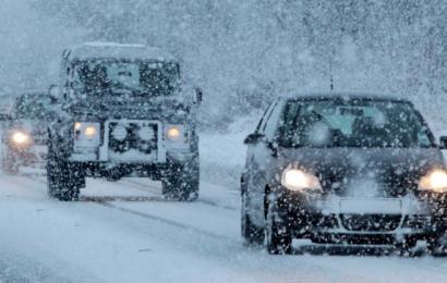 Kør sikkert i sne og glatføre