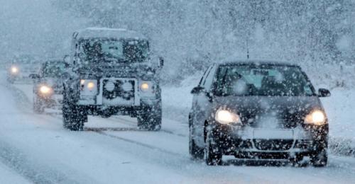 Kør sikkert i sne